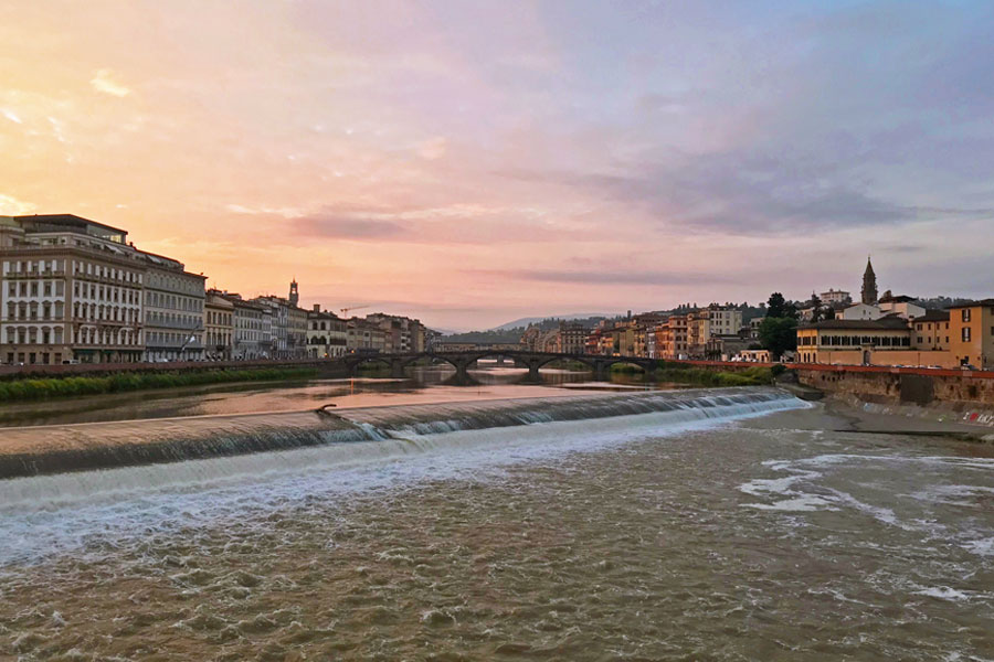 Living in Florence, Italy :: Capturing Florence at sunrise