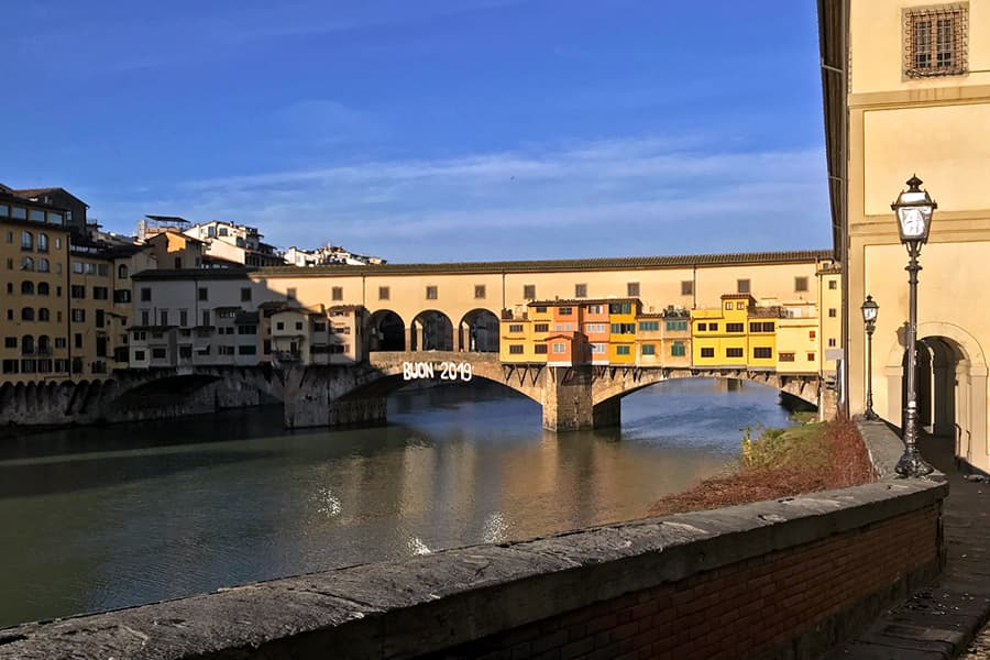 Living in Florence, Italy :: First Sunrise of 2019
