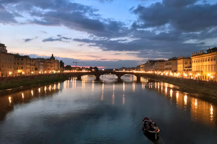 Living in Florence, Italy :: Reveling in a sunset