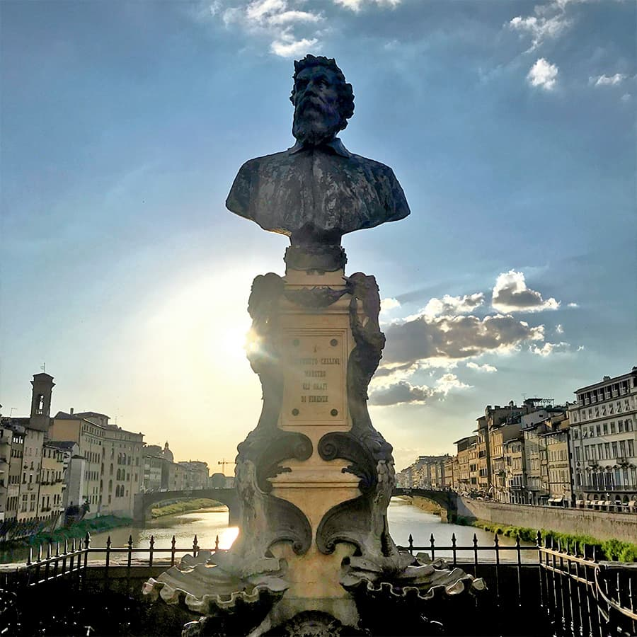Living in Florence, Italy :: Cellini