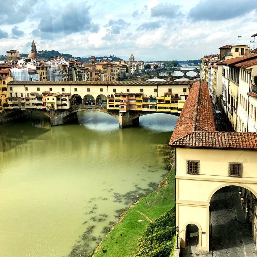 Living in Florence, Italy :: The Uffizi