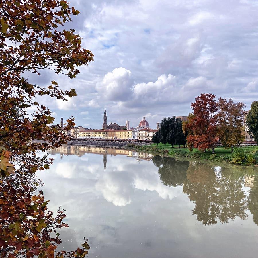 Living in Florence, Italy :: Ponte San Niccolò