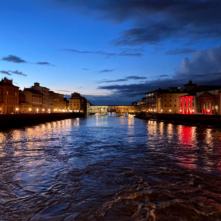 Living in Florence, Italy :: Ponte alle Grazie