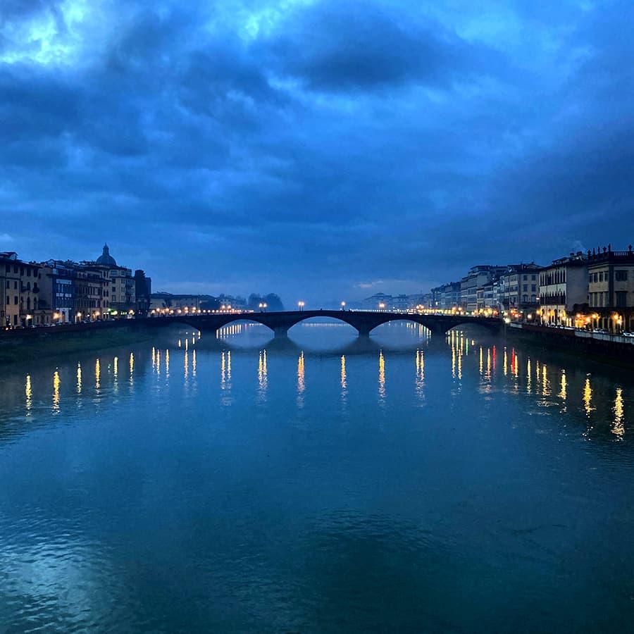 Living in Florence, Italy :: Ponte Santa Trinita