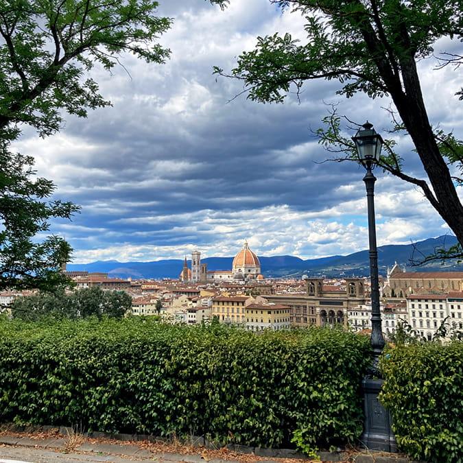 Living in Florence, Italy :: Viale Poggi