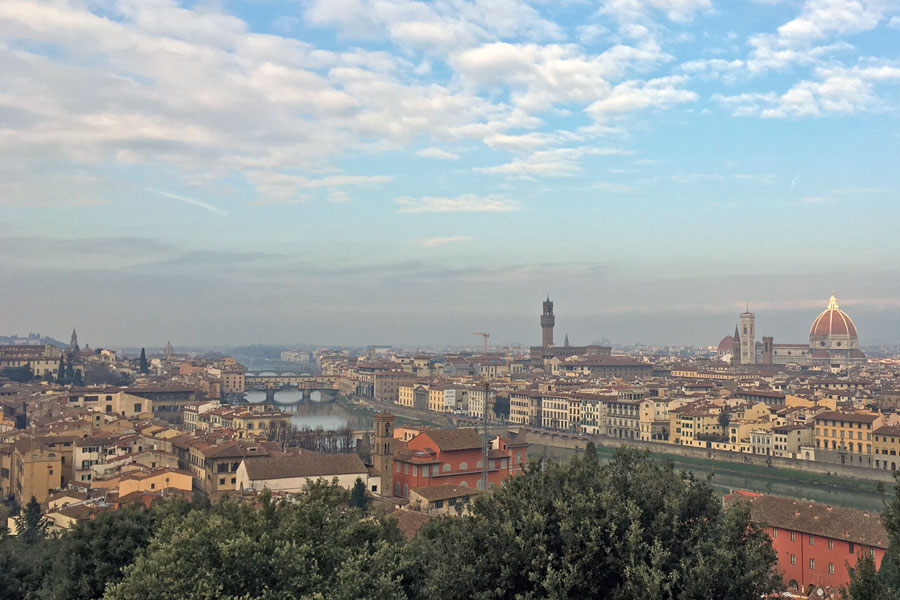 Living in Florence - Running in Florence and taking photos