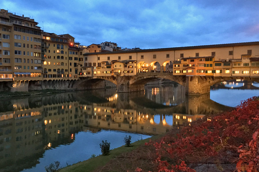 Living in Florence, Italy -- Melinda Gallo
