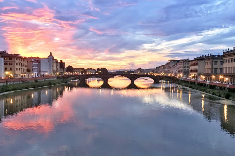 Living in Florence - Loving the Arno River in Florence