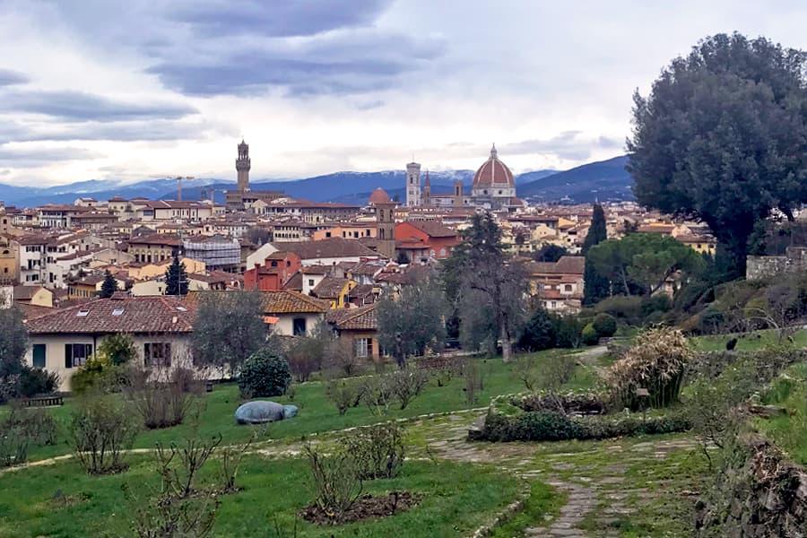 Living in Florence - Basking in the Giardino delle Rose