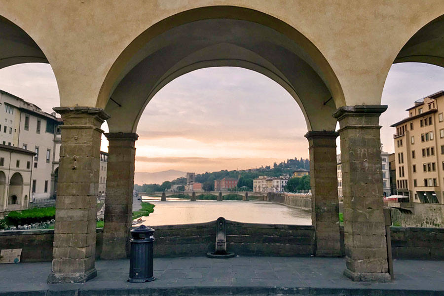 Living in Florence - Capturing Florence at sunrise