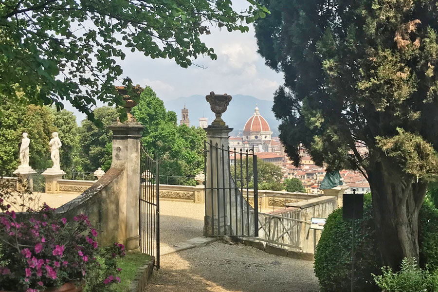 Living in Florence - Immersing myself in Florence�s gardens
