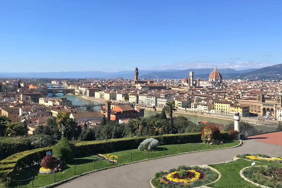 Living in Florence - Making the most of our quiet down period