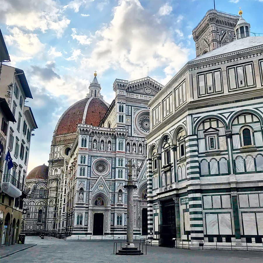 Living in Florence - Being present to commune with Florence