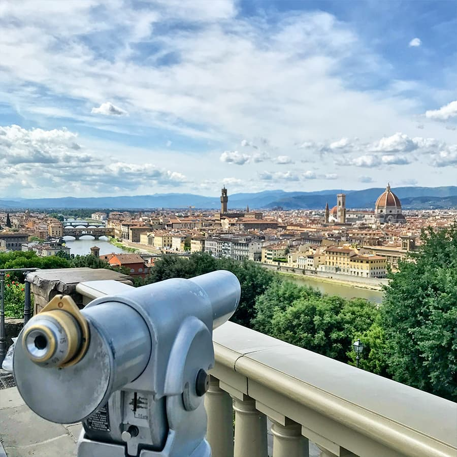 Living in Florence - Exploring Florence through the senses